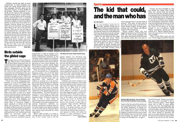 Article Preview: The kid that could, and the man who has, February 1980   Maclean's