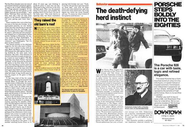 Article Preview: The death-defying herd instinct, February 1980 | Maclean's