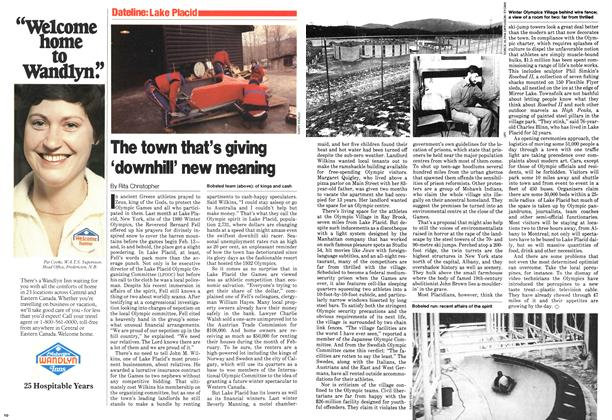 Article Preview: The town that's giving 'downhill' new meaning, February 1980 | Maclean's