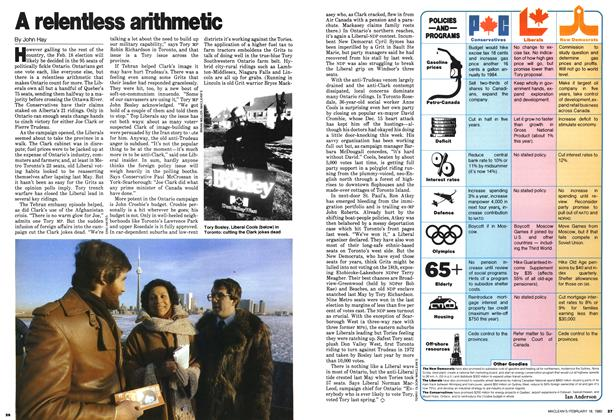 Article Preview: A relentless arithmetic, February 1980 | Maclean's