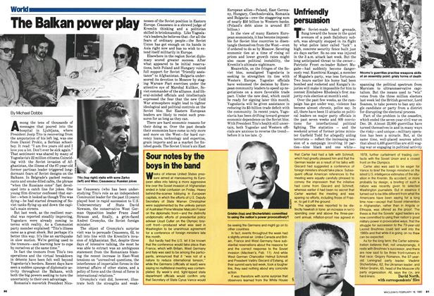 Article Preview: The Balkan power play, February 1980 | Maclean's