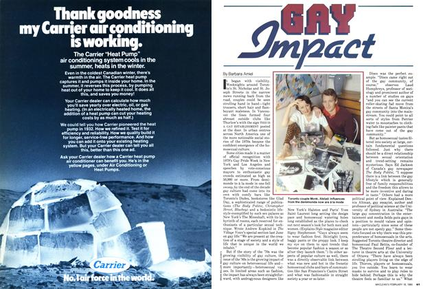 Article Preview: GAY Impact, February 1980 | Maclean's