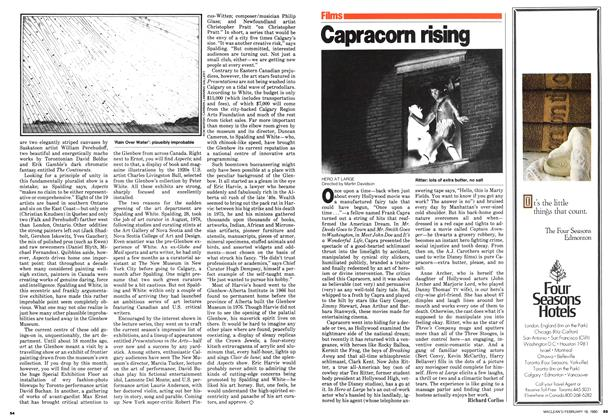 Article Preview: Capracorn rising, February 1980 | Maclean's