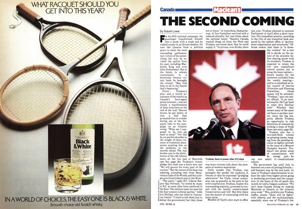 Article Preview: THE SECOND COMING, February 1980 | Maclean's