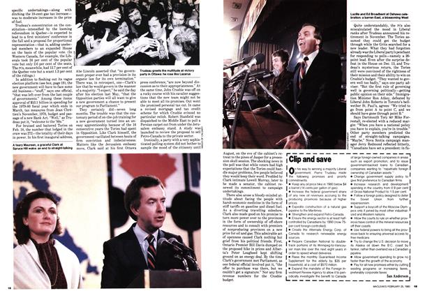 Article Preview: Clip and save, February 1980 | Maclean's