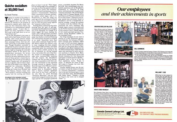 Article Preview: Quiche socialism at 30,000 feet, February 1980 | Maclean's