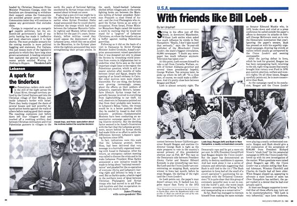 Article Preview: With friends like Bill Loeb∎∎∎, February 1980 | Maclean's