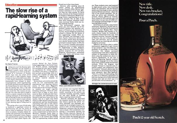 Article Preview: The slow rise of a rapid-learning system, February 1980 | Maclean's