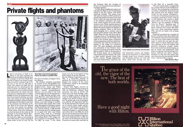 Article Preview: Private flights and phantoms, February 1980 | Maclean's