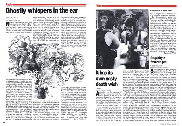 Article Preview: It has its own nasty death wish, February 1980 | Maclean's
