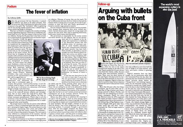 Article Preview: Arguing with bullets on the Cuba front, February 1980 | Maclean's
