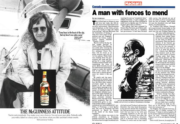 Article Preview: A man with fences to mend, March 1980 | Maclean's