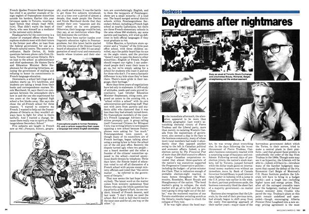 Article Preview: Daydreams after nightmares, March 1980 | Maclean's