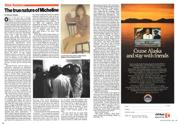 Article Preview: The true nature of Micheline, March 1980 | Maclean's