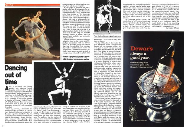 Article Preview: Dancing out of time, March 1980 | Maclean's