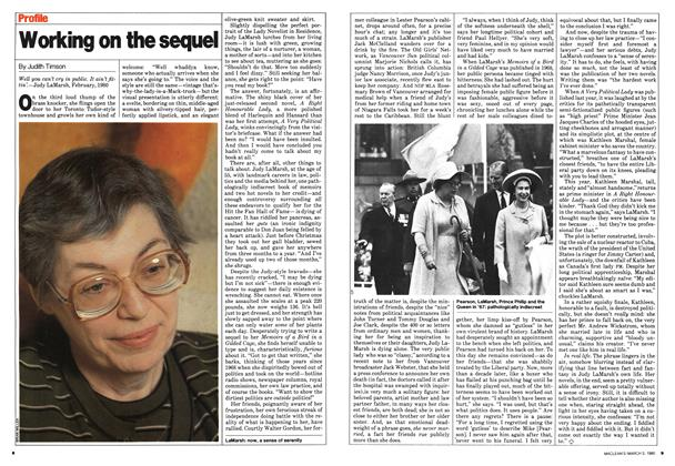 Article Preview: Working on the sequel, March 1980 | Maclean's