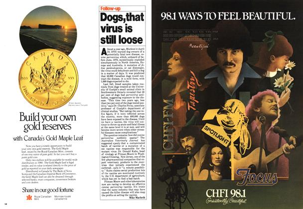 Article Preview: Dogs, that virus is still loose, March 1980 | Maclean's