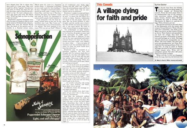 Article Preview: A village dying for faith and pride, March 1980 | Maclean's