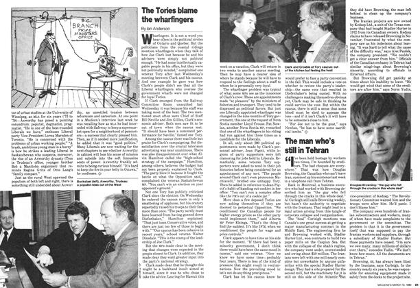 Article Preview: The Tories blame the wharfingers, March 1980 | Maclean's