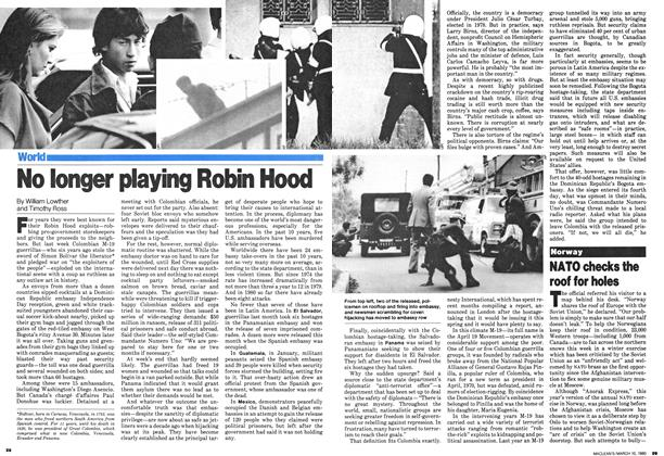 Article Preview: No longer playing Robin Hood, March 1980 | Maclean's