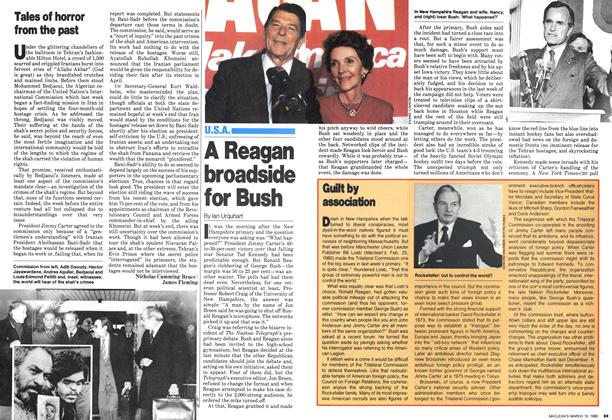 Article Preview: A Reagan broadside for Bush, March 1980 | Maclean's