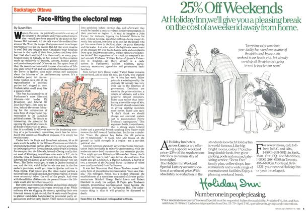 Article Preview: Face-lifting the electoral map, March 1980 | Maclean's