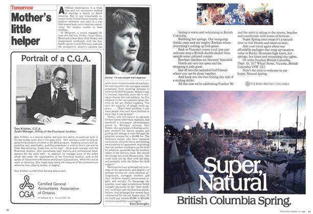 Article Preview: Mother's little helper, March 1980 | Maclean's