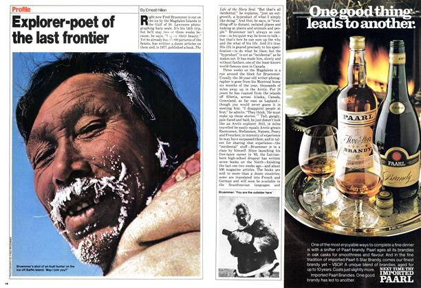 Article Preview: Explorer-poet of the last frontier, March 1980 | Maclean's