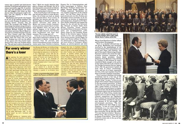 Article Preview: For every winner there's a loser, March 1980 | Maclean's