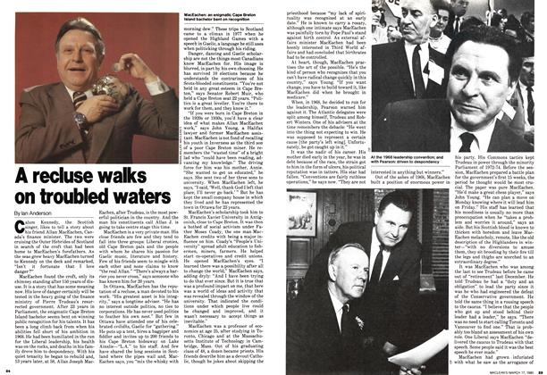 Article Preview: A recluse walks on troubled waters, March 1980 | Maclean's