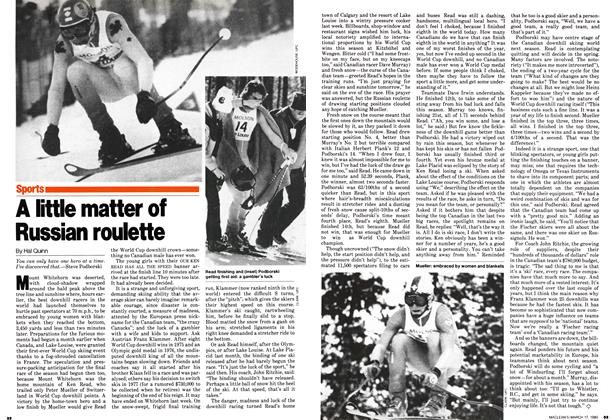 Article Preview: A little matter of Russian roulette, March 1980 | Maclean's