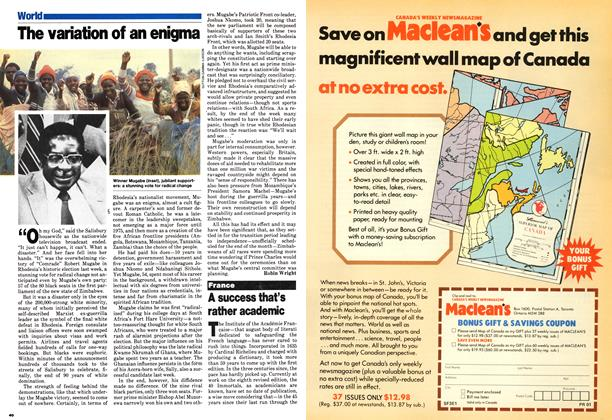 Article Preview: A success that's rather academic, March 1980 | Maclean's