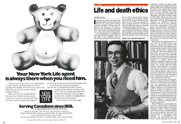 Article Preview: Life and death ethics, March 1980 | Maclean's