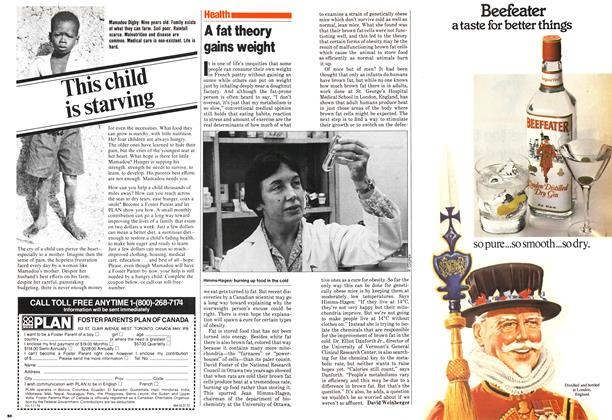 Article Preview: A fat theory gains weight, March 1980 | Maclean's