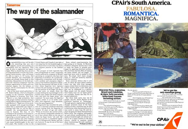 Article Preview: The way of the salamander, March 1980 | Maclean's