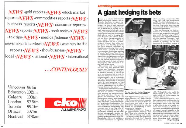 Article Preview: A giant hedging its bets, March 1980 | Maclean's