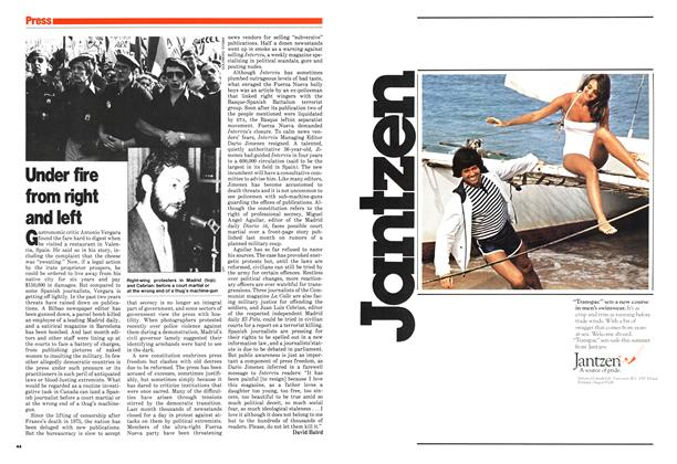 Article Preview: Under fire from right and left, March 1980 | Maclean's