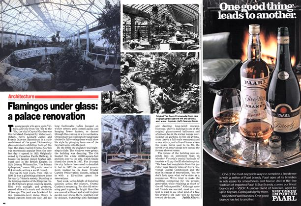 Article Preview: Flamingos under glass: a palace renovation, March 1980 | Maclean's