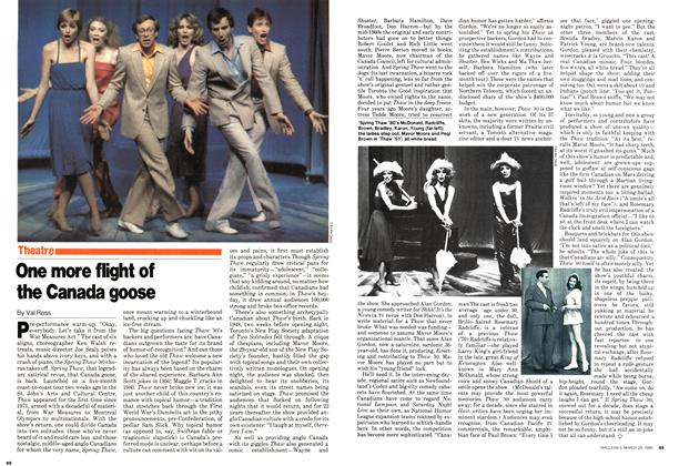 Article Preview: One more flight of the Canada goose, March 1980 | Maclean's