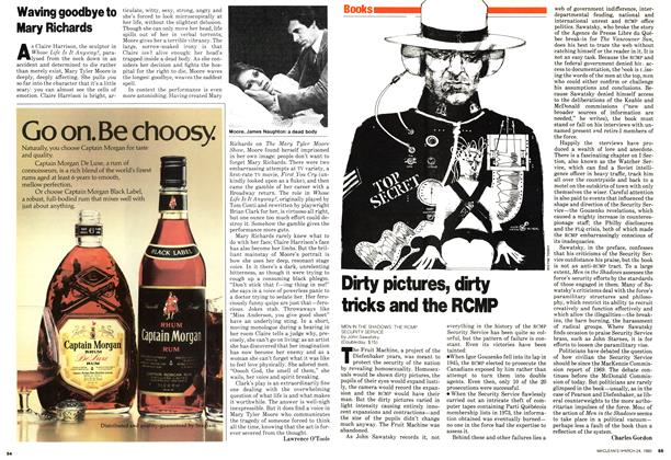 Article Preview: Dirty pictures, dirty tricks and the RCMP, March 1980 | Maclean's