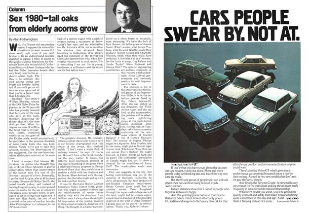 Article Preview: Sex 1980-tall oaks from elderly acorns grow, March 1980 | Maclean's