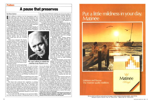 Article Preview: A pause that preserves, March 1980 | Maclean's