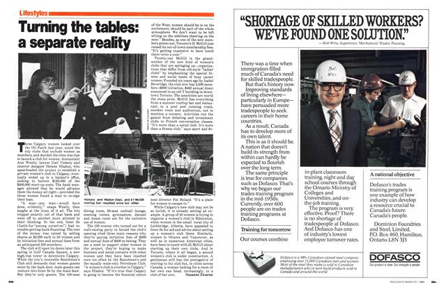 Article Preview: Turning the tables: a separate realty, March 1980 | Maclean's