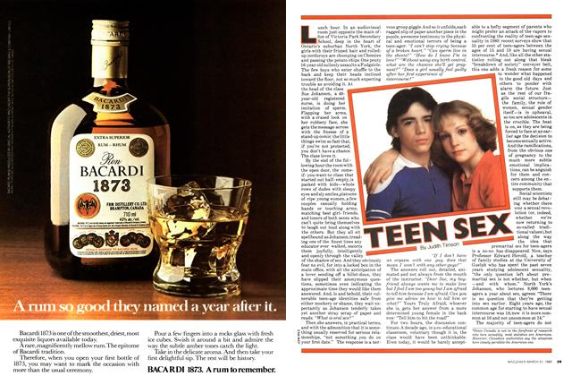 Article Preview: TEEN SEX, March 1980 | Maclean's