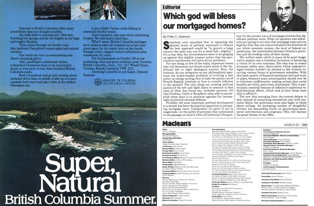 Article Preview: Which god will bless our mortgaged homes?, March 1980 | Maclean's