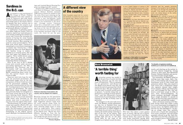 Article Preview: 'A terrible thing' worth fasting for, April 1980 | Maclean's