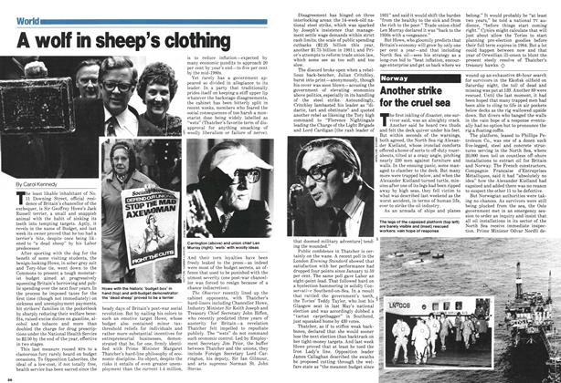 Article Preview: Another strike for the cruel sea, April 1980 | Maclean's