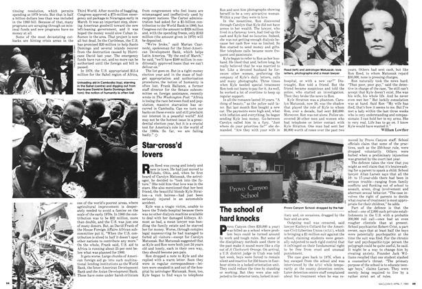 Article Preview: Star-cross'd lovers, April 1980 | Maclean's