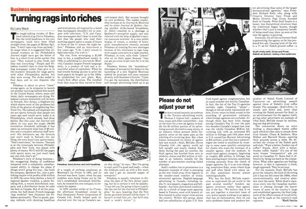 Article Preview: Turning rags into riches, April 1980 | Maclean's
