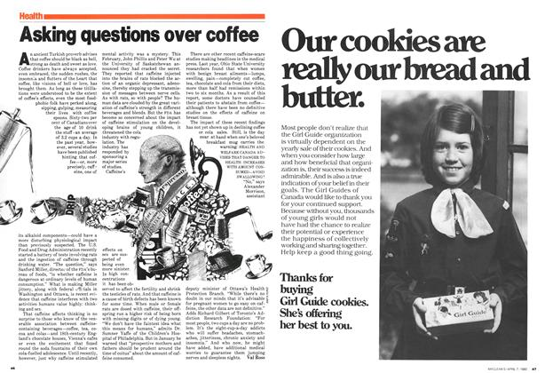 Article Preview: Asking questions over coffee, April 1980 | Maclean's